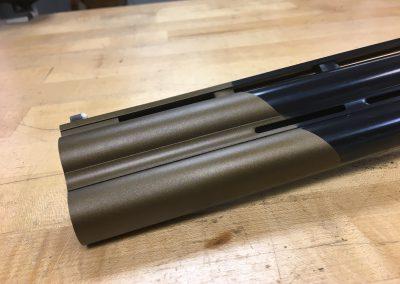 Custom Cerikote on a Citori Shotgun